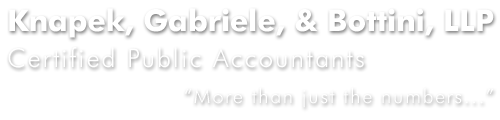Albany, NY Accounting Firm | Payroll Tax Problems Page | Knapek, Gabriele, & Bottini, LLP