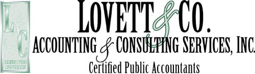 Lovett CPA,  Lovett Accounting Consulting, Lovett Taxes
