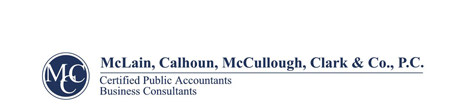 Vidalia, GA Accounting Firm | IRS Tax Forms and Publications Page | McLain, Calhoun, McCullough, Clark & Co., P.C.